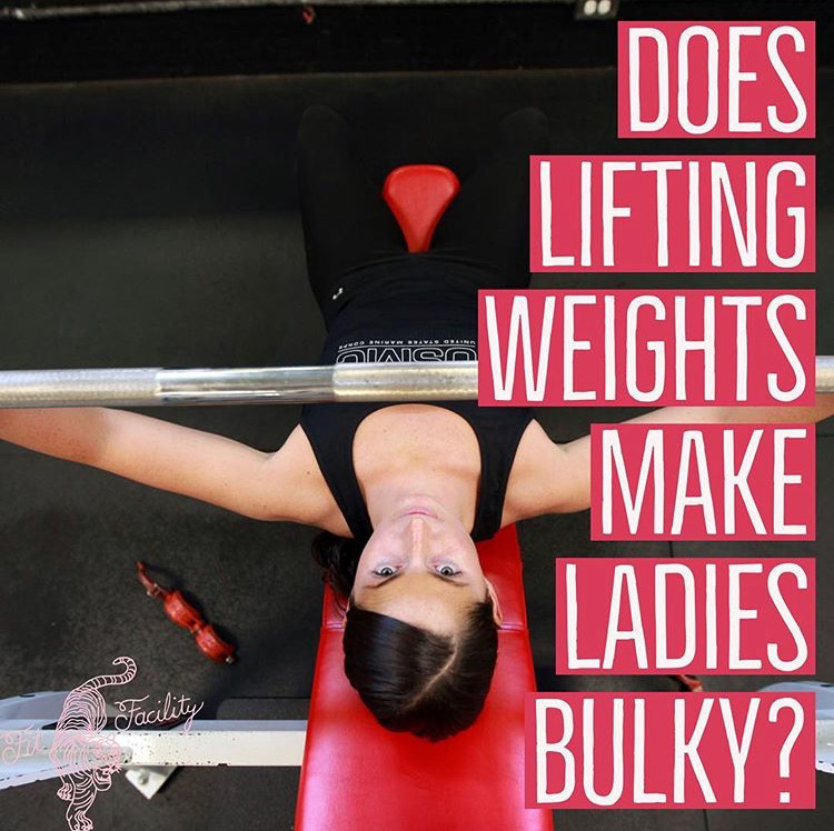 Does lifting weight make ladies bulky | the fit facility | jamie dixon | gym | fitness | florence alabama.JPG