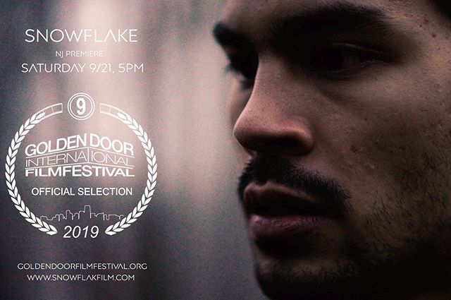 SNOWFLAKE ❄️ is making it's way to the big screen again at the @goldendoorfilmfest! It seriously means so much that people are seeing this film. I could go on for days about how sharing this project makes me feel, but it all goes back to gratitude. If you're in Jersey City on the 21st of September, come hang out! . . . . #film #festival #indie #political #drama #acting #actor #movie #nyc #newjersey #lgbt #gay @necessoutlet