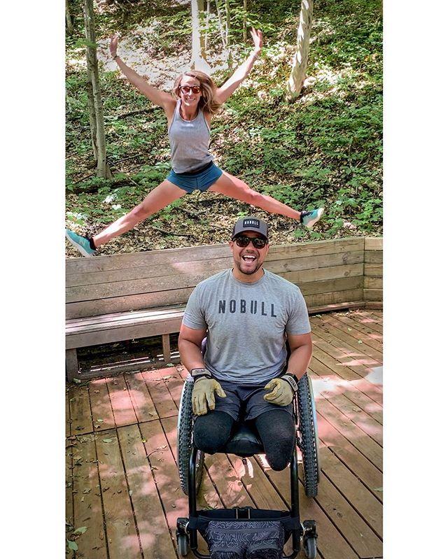 Bye Michigan, its been fun! 👋 #Michigan #IAMNOBULL #BeAGoodPerson • • • #amputee #amputeelife #iamadaptive #amputeestrong #adaptiveathlete #AmputeePride #Prosthetic #ProstheticLeg #AmpLife #DoubleAmputee #Wheelchair #WheelchairLife #JustTheHorns #NOBULL #KILLTHEQUIT #CelebrateLife #gait #embracetheprocess #x3 #ottobock #Endurance  #Confidence #BeAGoodPersonBrand @shoesonthemoon_fit @nobullproject