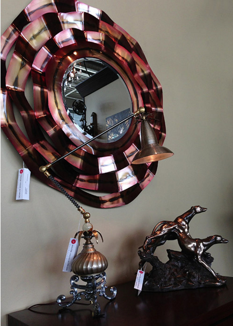 Mirror & Lamp