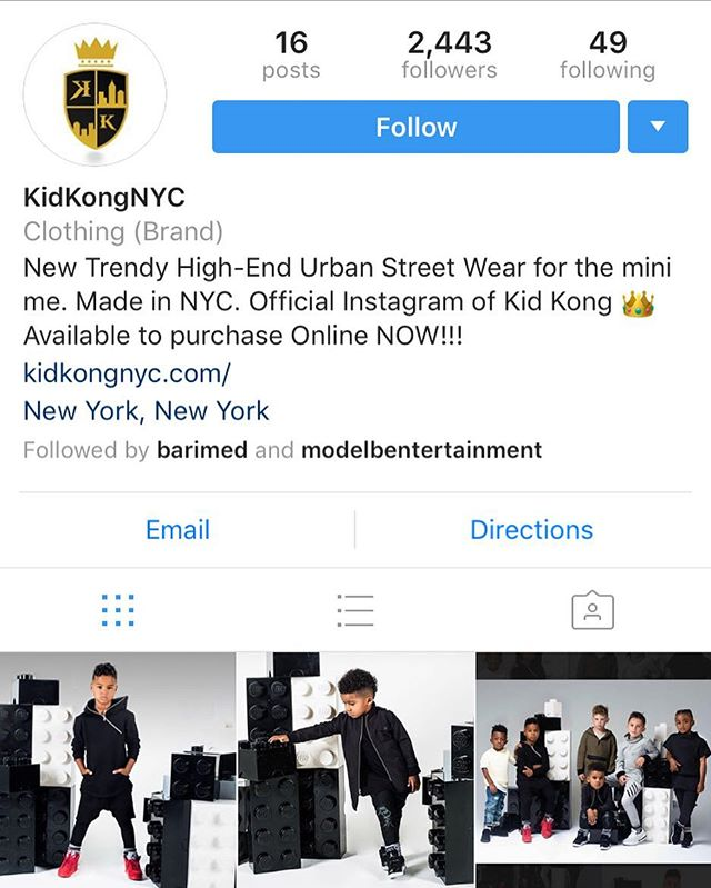 Couldn't be more proud of our new star client @kidkongnyc who is #killingit 👏🏽👏🏽