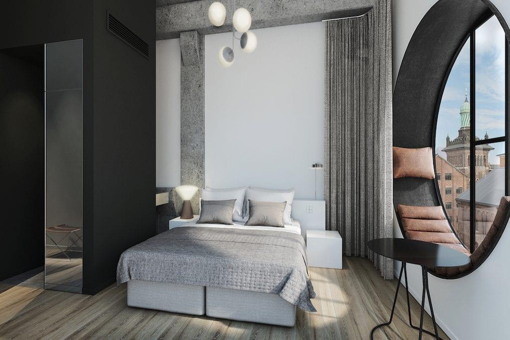A junior suite at Hotel Ottilia. Source: Brøchner Hotels