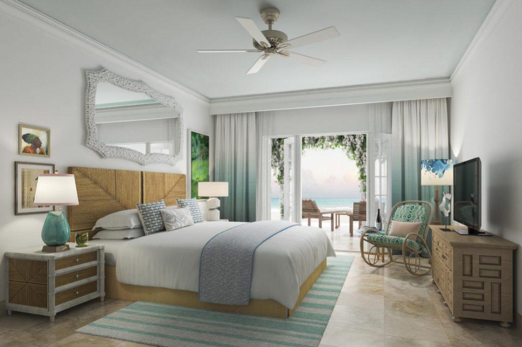 A room at the newly renovated Belmond La Samanna. Source: Belmond La Samanna