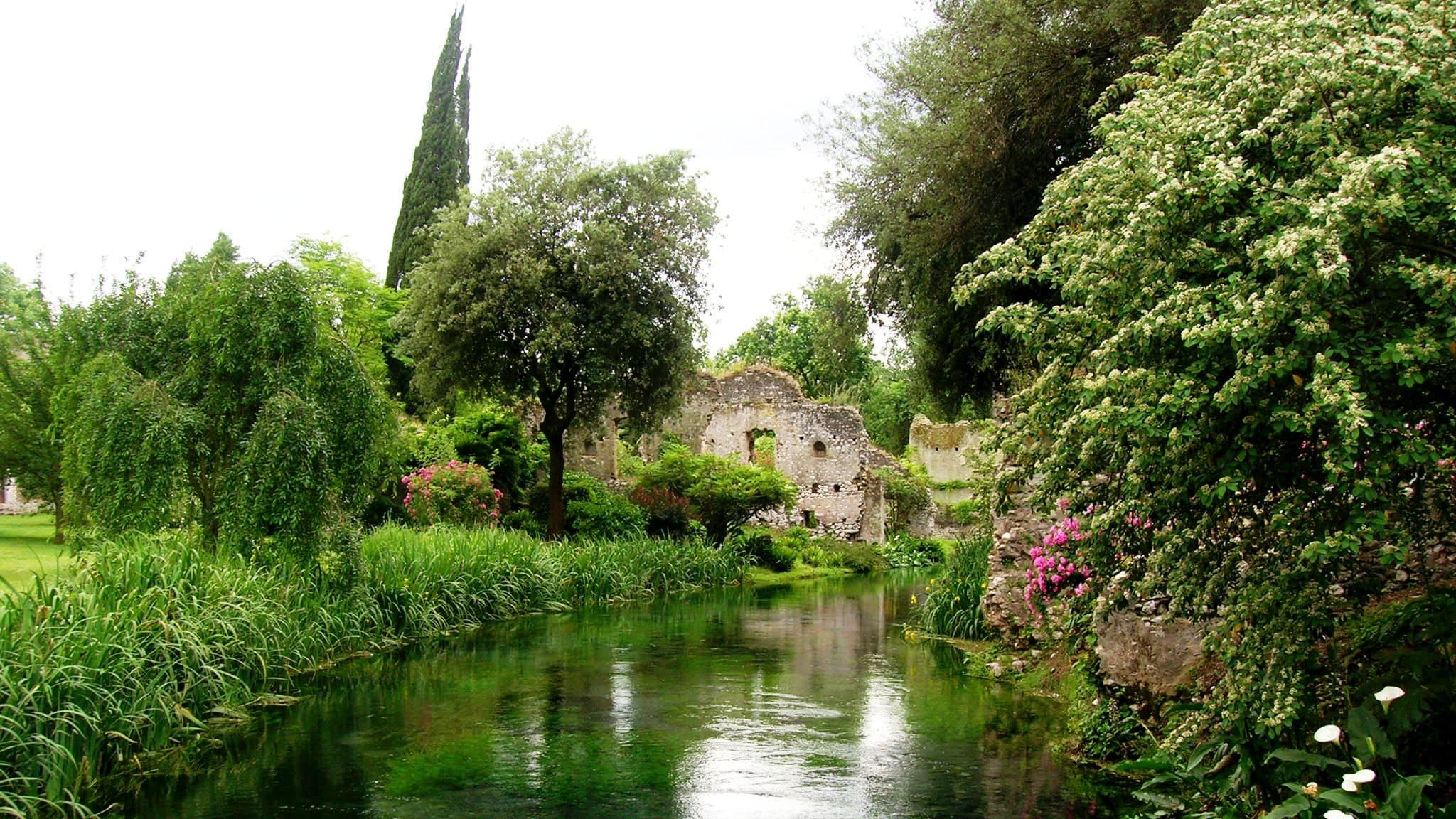 Garden of Ninfa near Rome