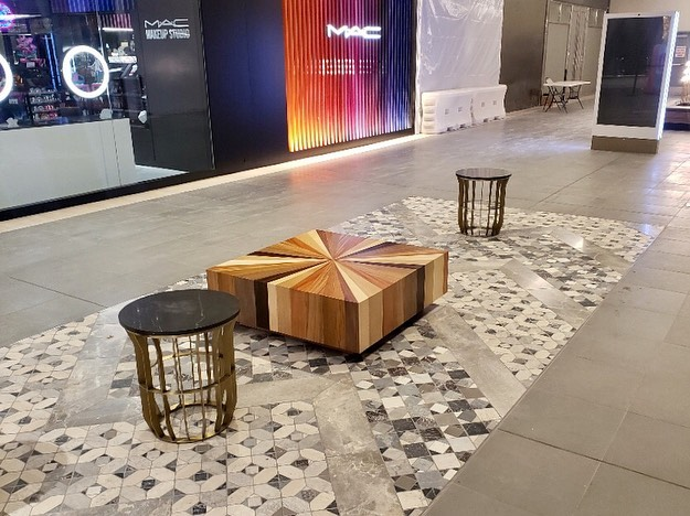 We installed some super-classy seating in the public areas at a shopping mall in California. 😍 . #jmcglobal #luxurylogistics #hospitalityffe #logistics #hospitalitydesign #hospitality #hospitalityinstall #hospitalityinstallation #shoppingmall #shoppingmalldesign