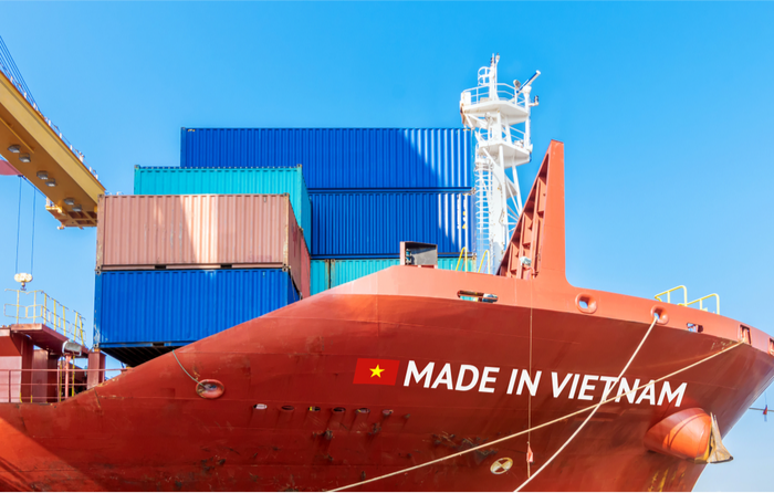 Vietnam has been a prime beneficiary of the US-China trade war with exports to the US growing strongly in the first half. Photo credit: Shutterstock.com.
