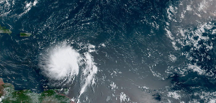 Hurricane Dorian may be a category 4 storm when it reaches Florida. Photo: NOAA