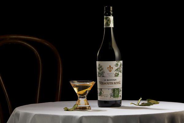 La Quintinye Vermouth Royal Extra Dry.