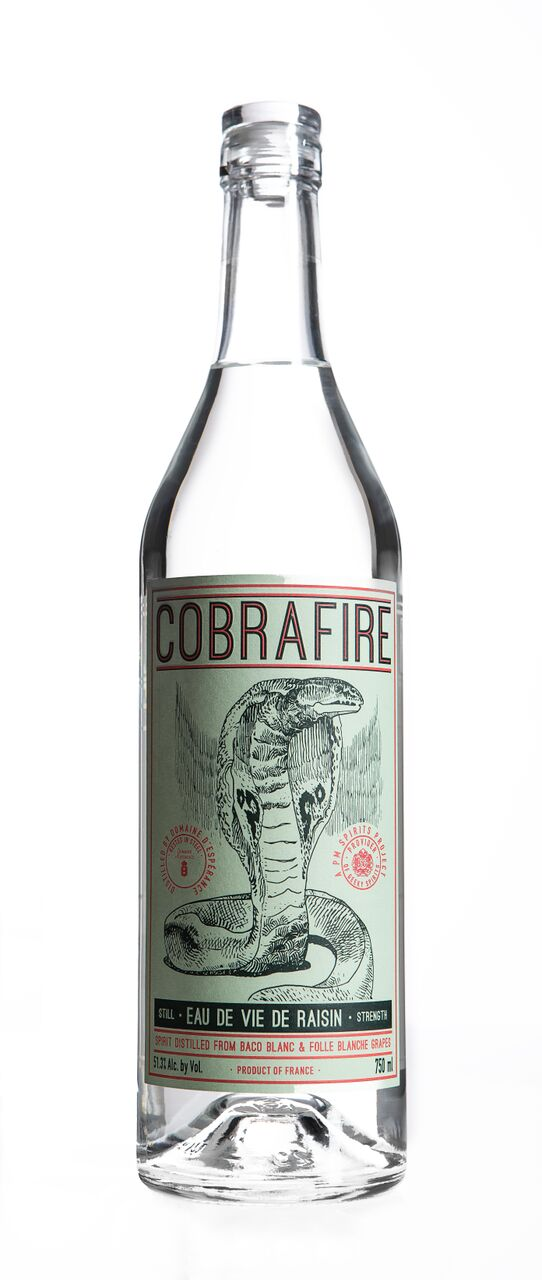 - Notes:You'll notice that Cobrafire does not carry the Blanche d'Armagnac appellation on its label. It is intentional.We felt it was getting in the way of telling the story, adding another layer of difficulty to the getting
