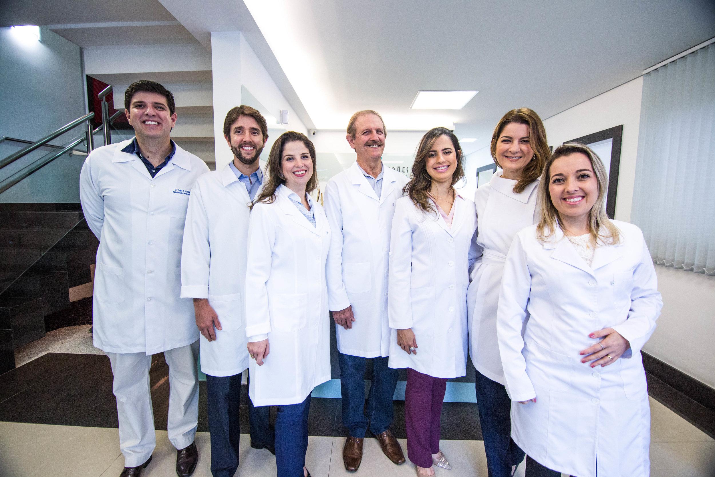 Equipe de Dentistas da Clínica