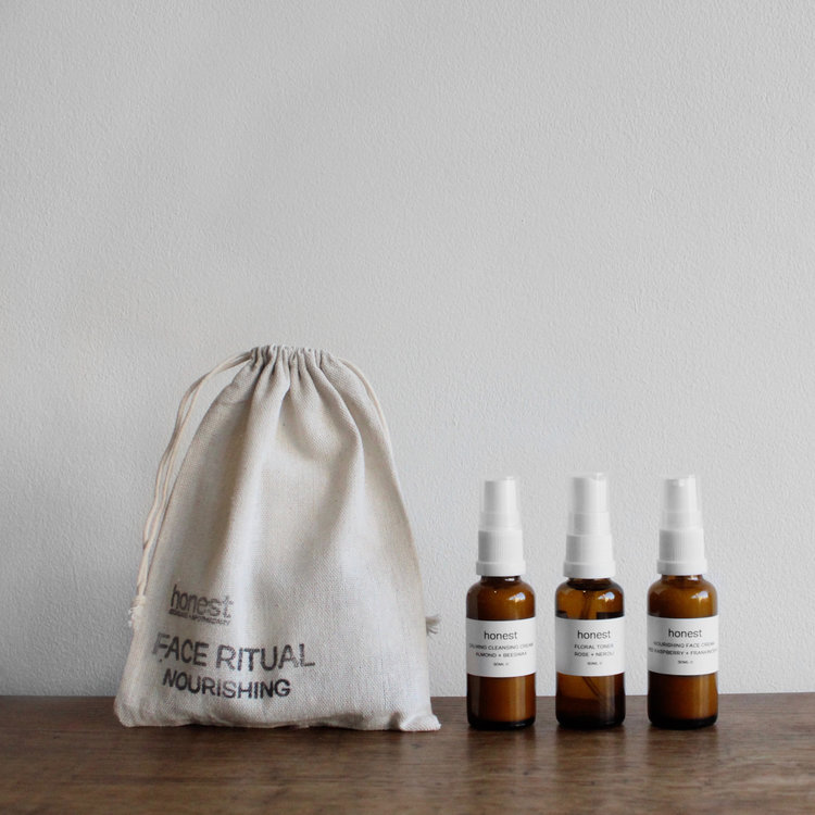 Mini Face Ritual by Honest Skincare £30