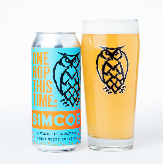 One Hop This Time Mosaic   | 6.0% ABV | This exciting rotating IPA series was developed to showcase the specific profile of a single hop variety. This batch is brewed exclusively with Mosaic hops expect notes of  tangerine, papaya, rose, blossoms, and grass.