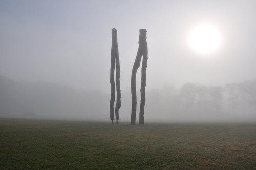 Walter Channing's wild sculptures.