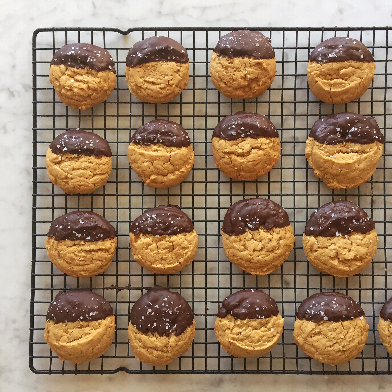 Chocolate Dipped Oatmeal Tahini Cookies [1].jpg