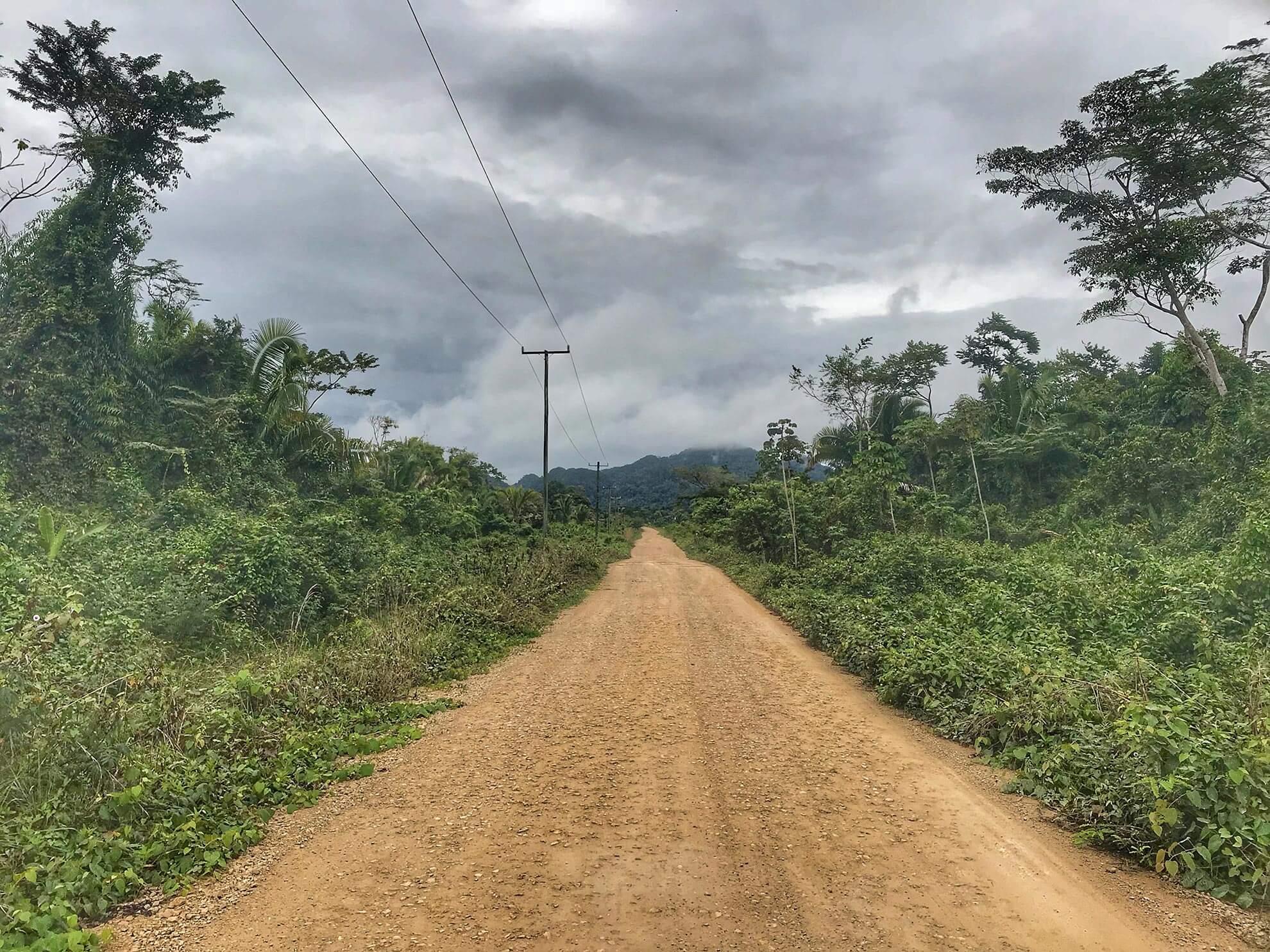 Dirt Road in Belize