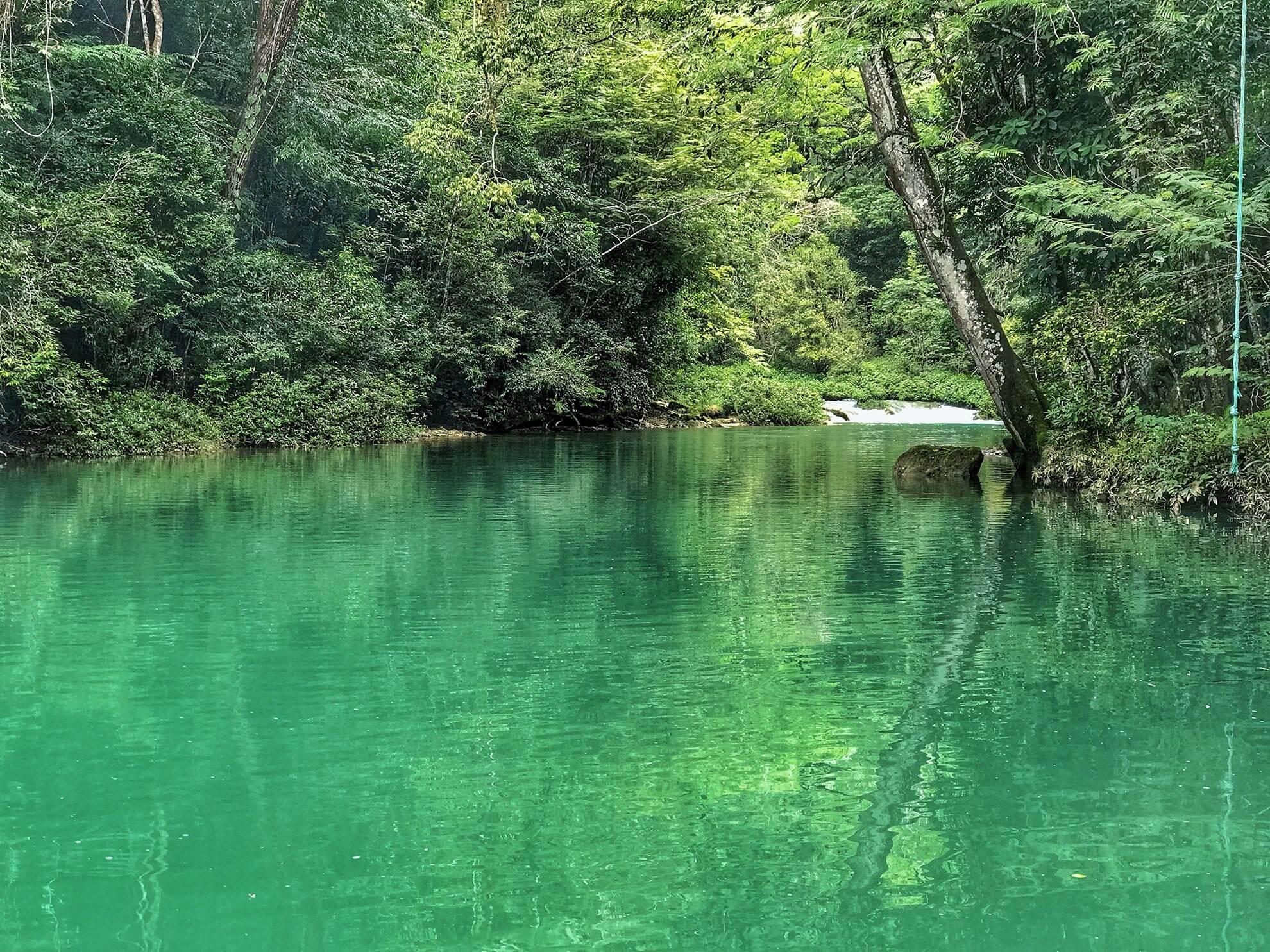 Beautiful River in Belize