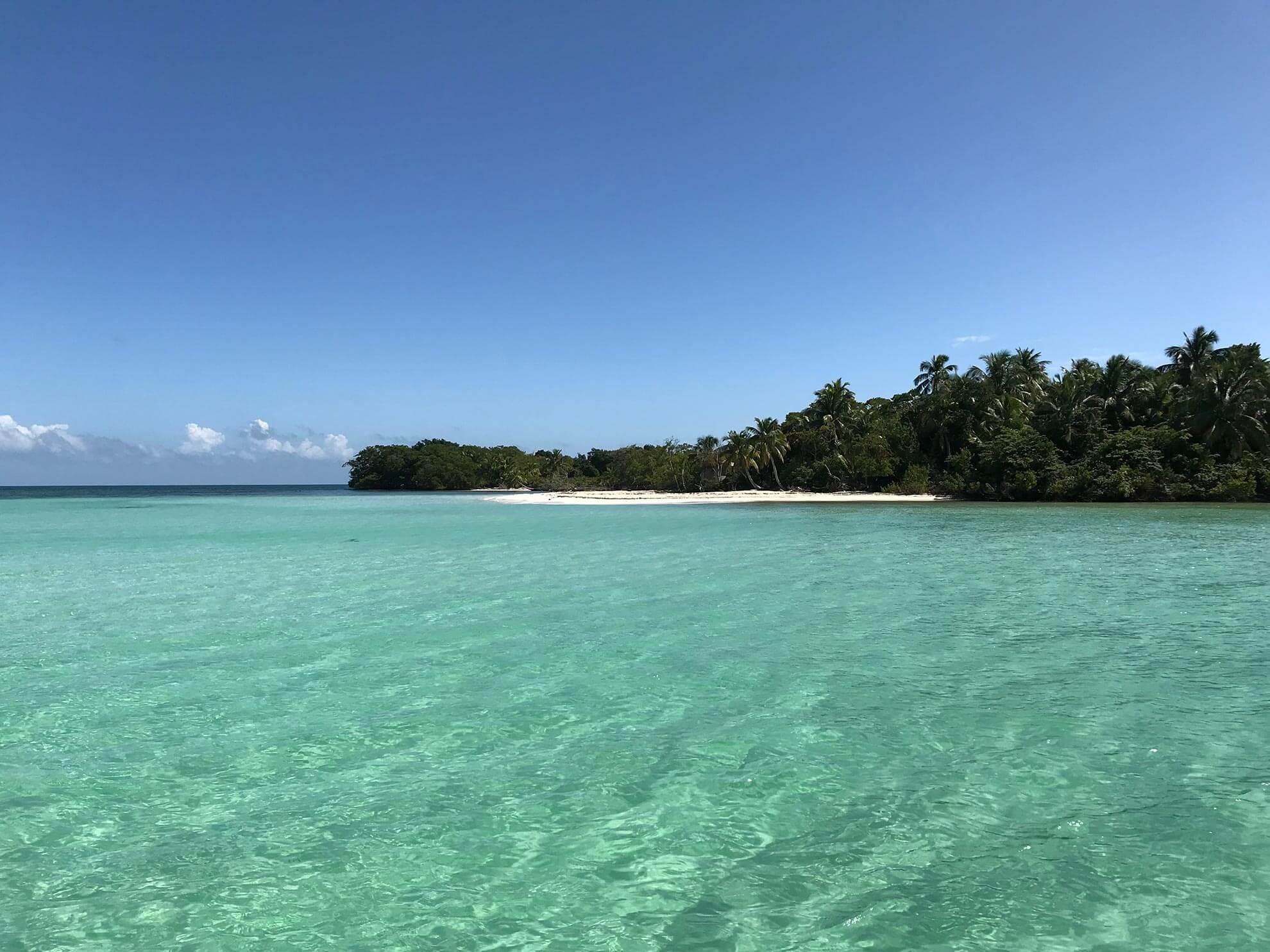 Secluded Belizean Beach