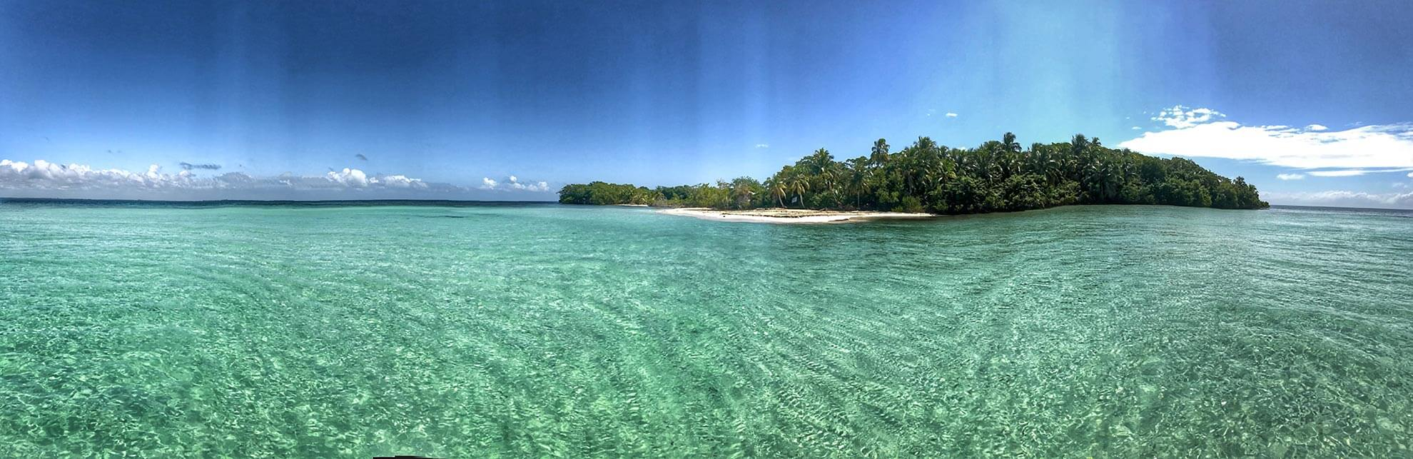 Secluded Beach in Belize