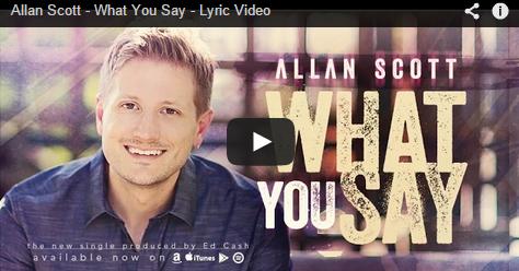 What You Say Lyric Screenshot