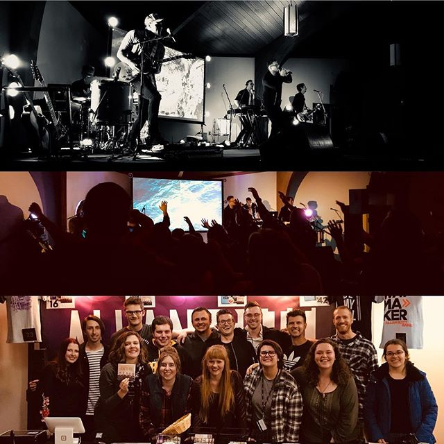 Thanks to all who came out to the UPJ Pitt-Johnstown Catholic Campus Ministry show last night! We had a lot of fun with you 🙂 Sometimes the smallest shoes are the best!