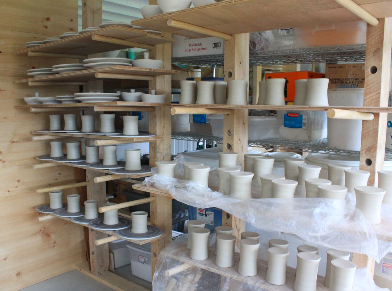 mugs in process