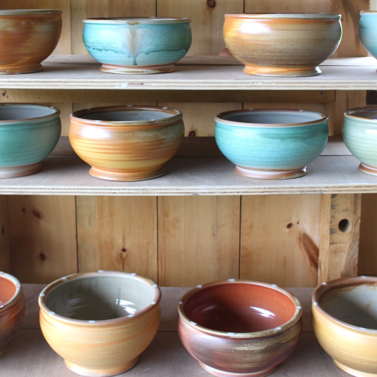 bowls by Nathan Webb of Two Potters