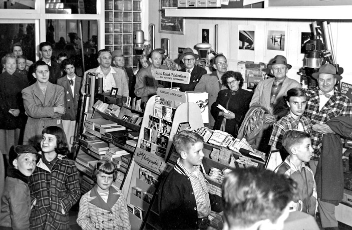 1948 - The Photo Shop's first Anniversary Sale