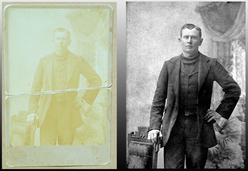 Printing and Restoration - Click here to find out about our scanning, restoration and custom printing services