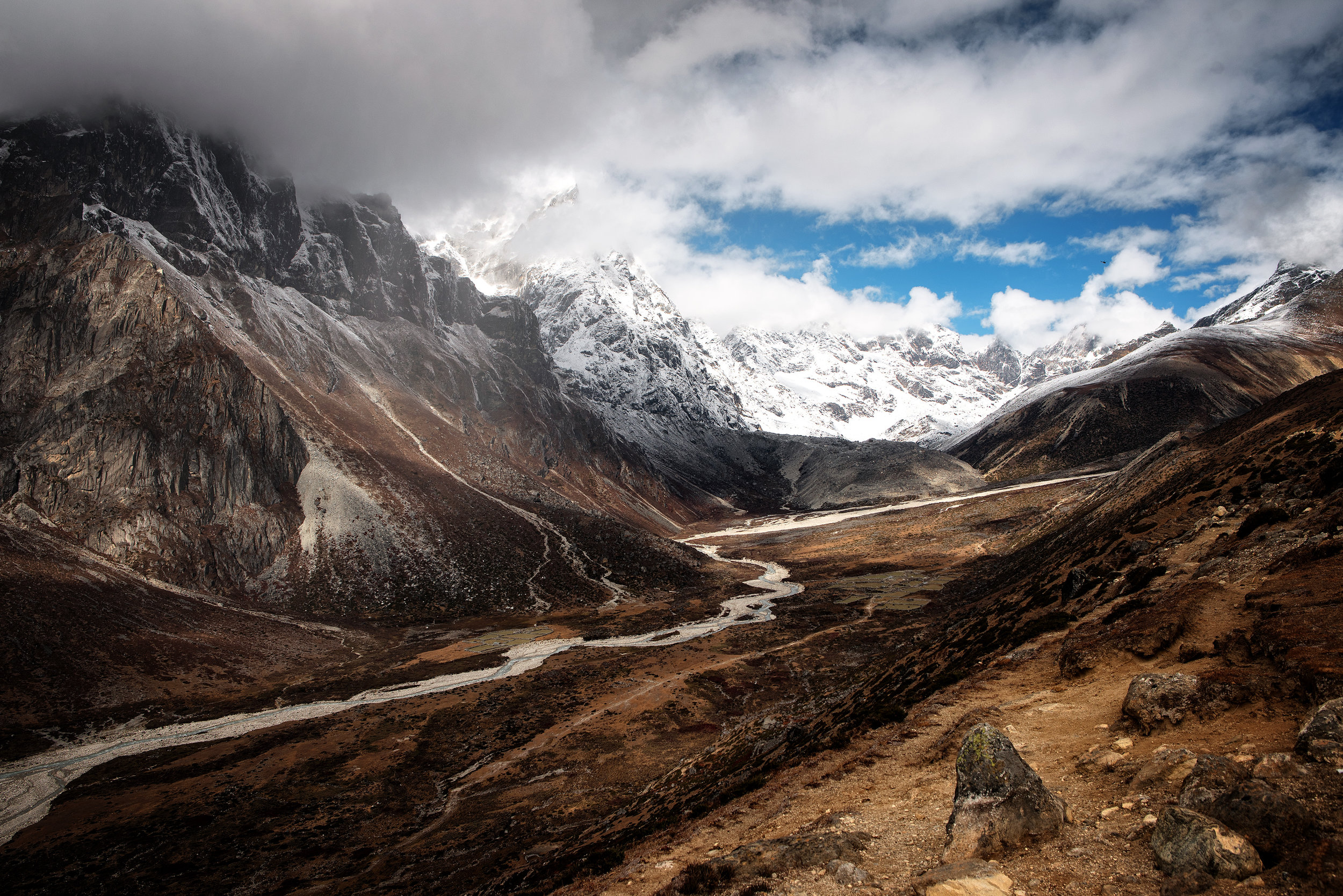 Nepal, in drum spre Everest Base Camp