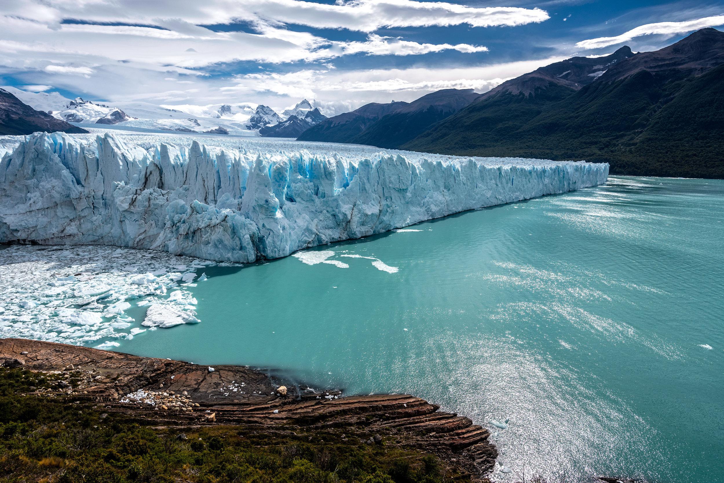 gheţarul Perito Moreno