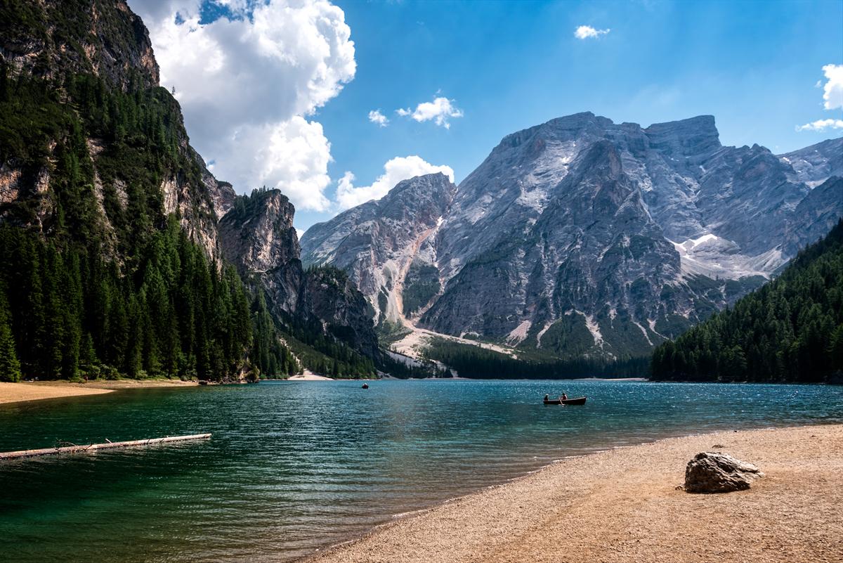 Lago di Braies, punctul nostru de pornire