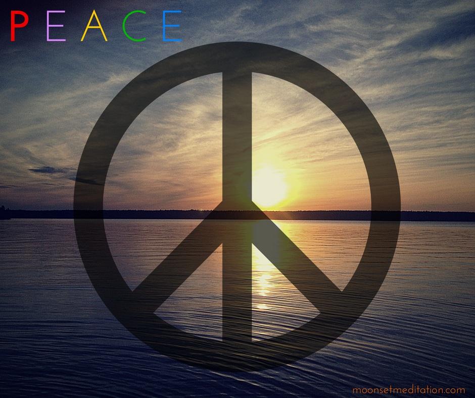meditation and peace