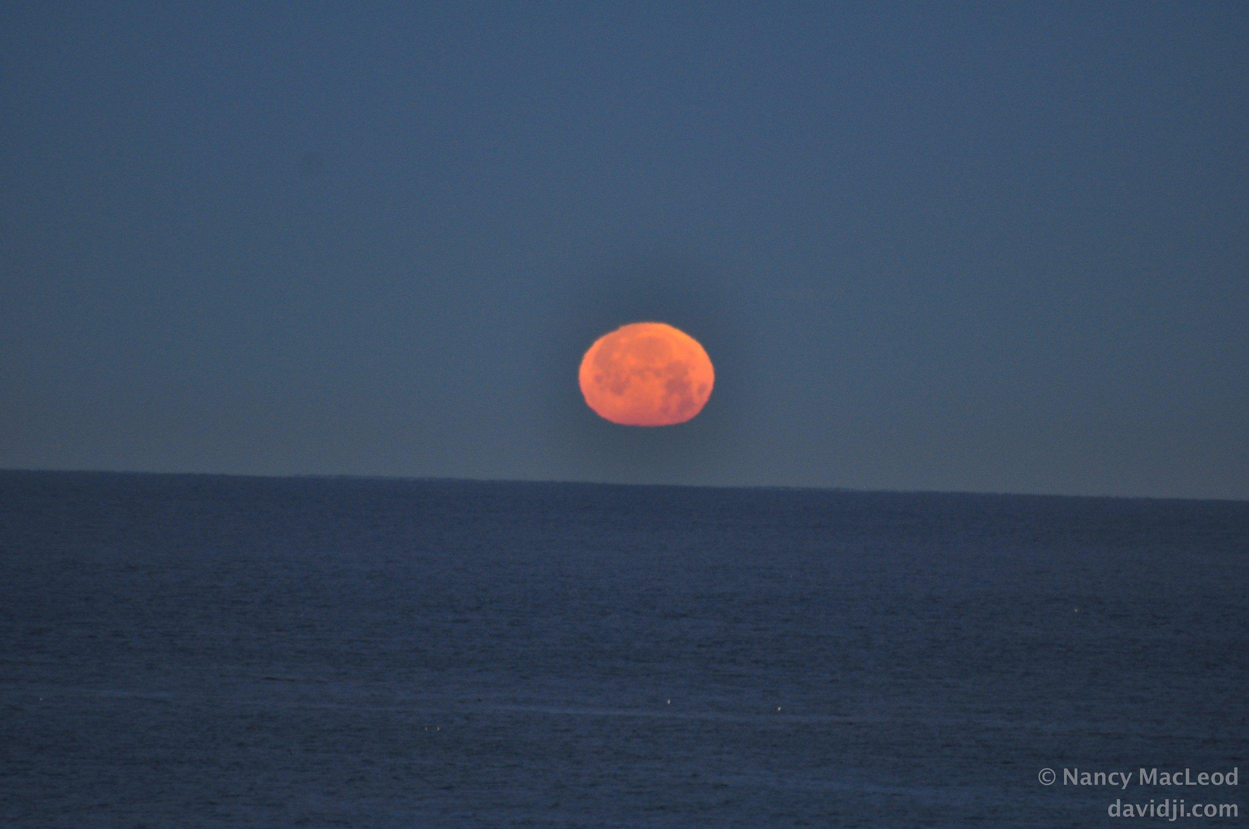 moonset meditation