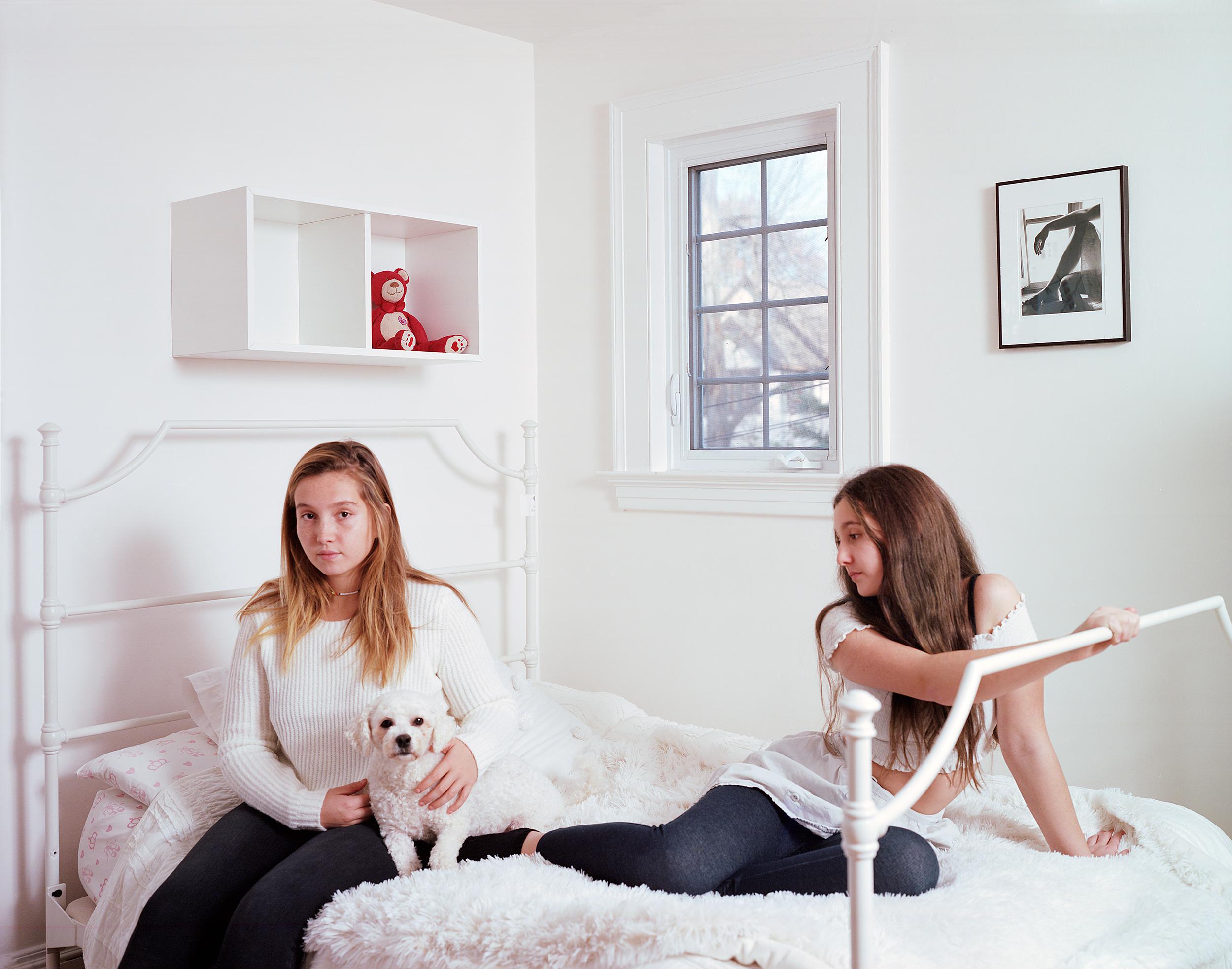 Anya and Stella, 2017