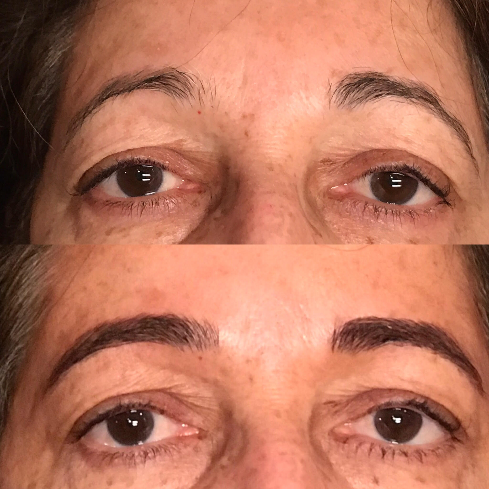 Microblading Before and After - MS