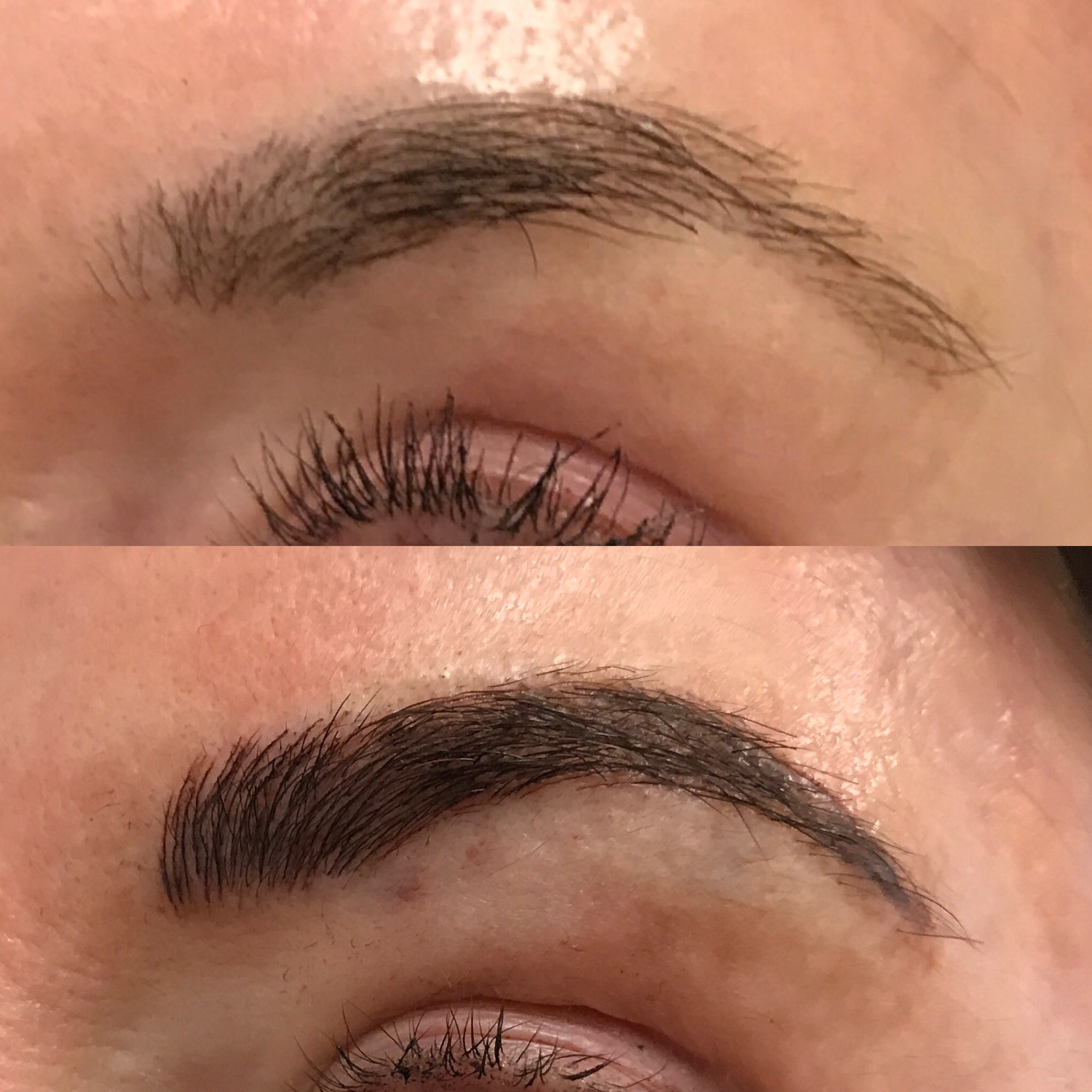 Microblading Before and After - LT