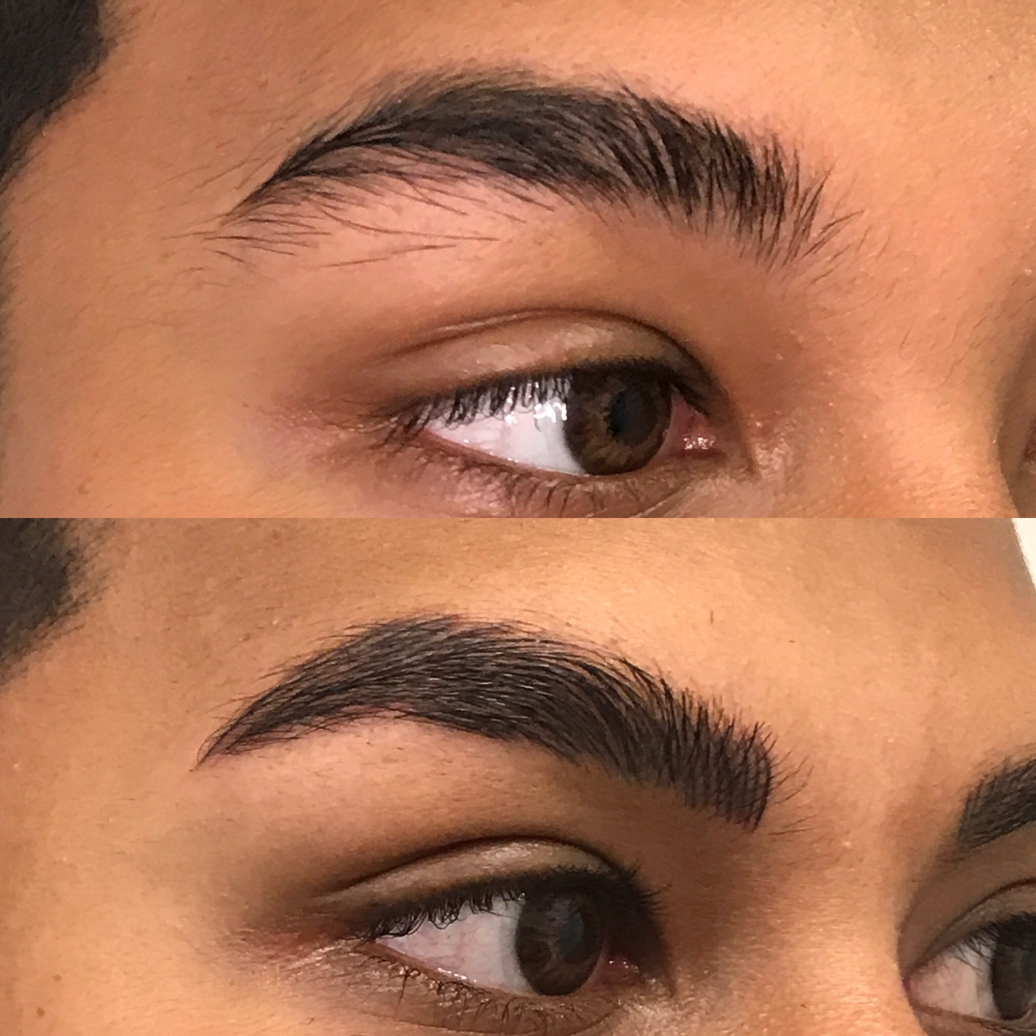 Microblading Before and After - RT