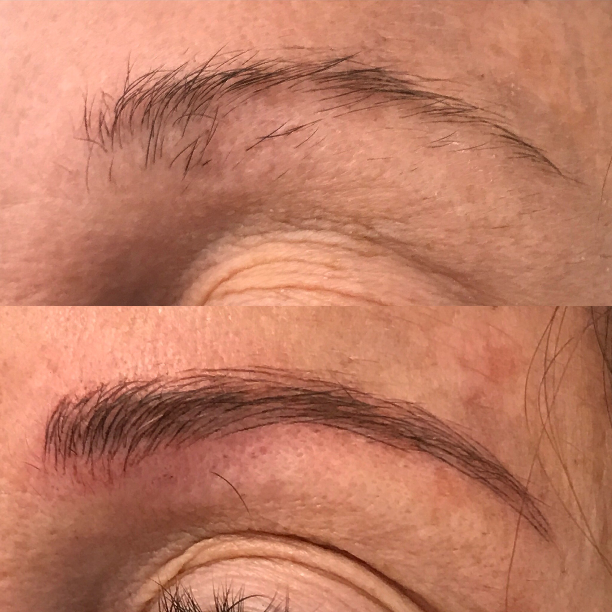 Microblading Before and After - RS