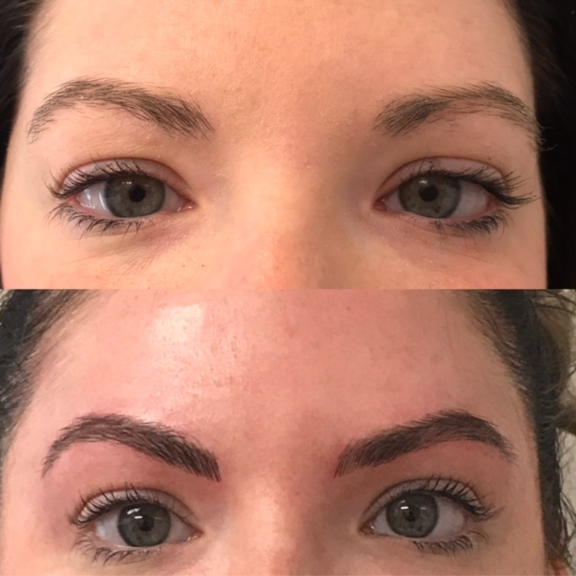 Microblading Before and After - JR
