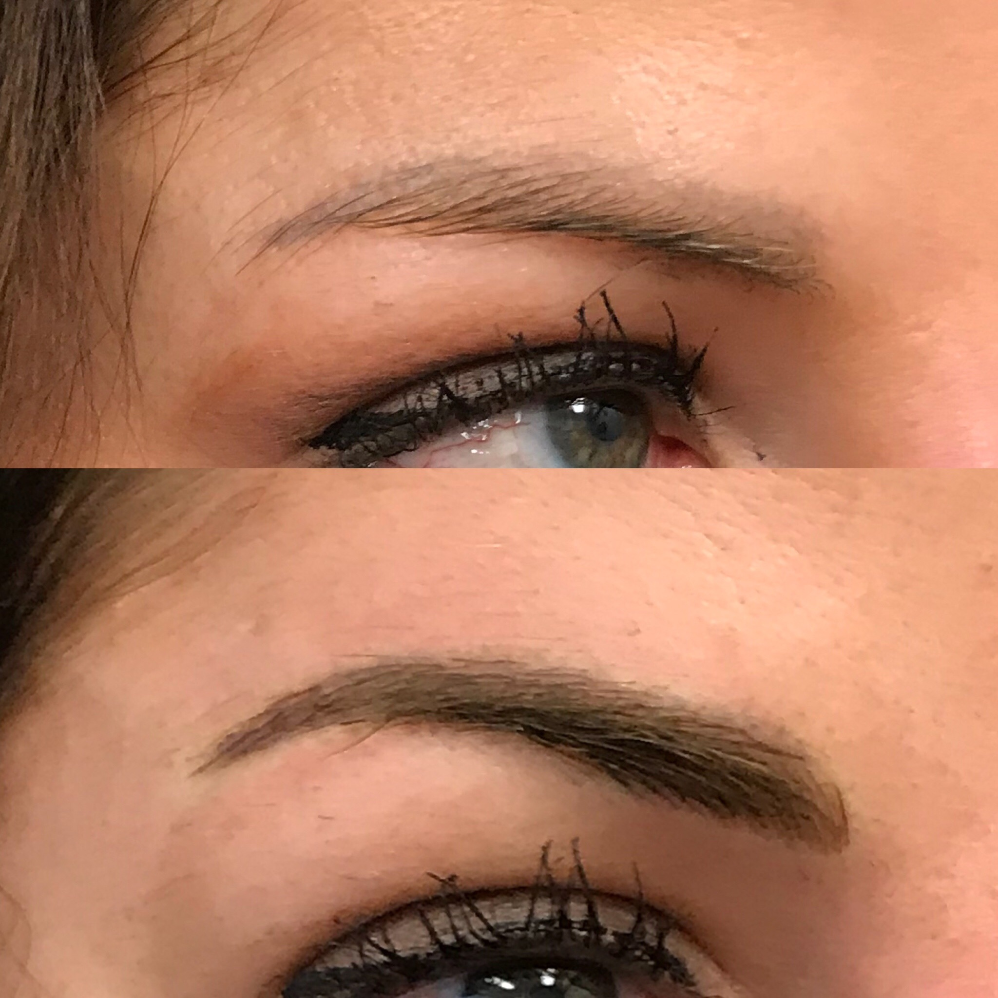 Microblading Before and After - CZ