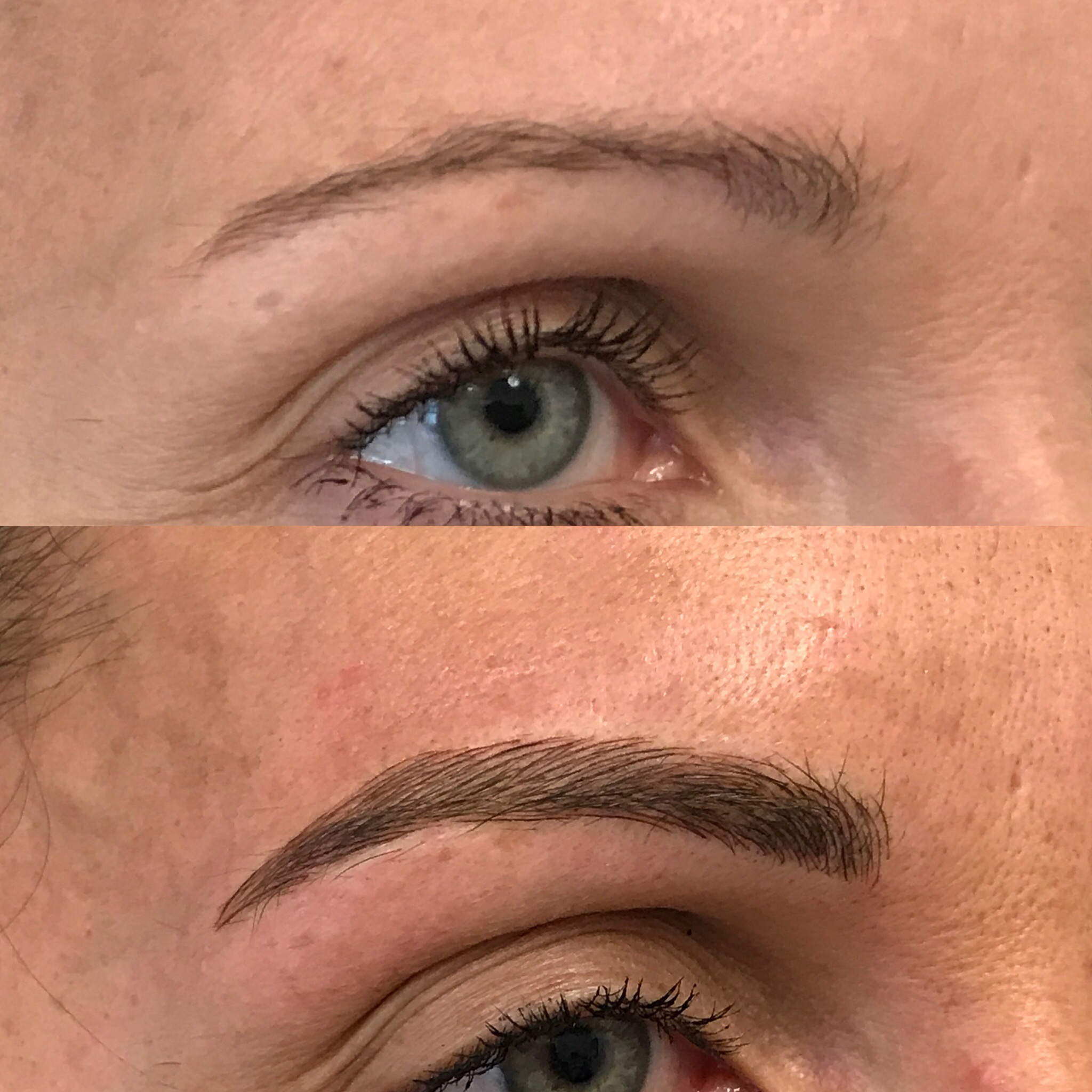 Microblading Before and After - SJ