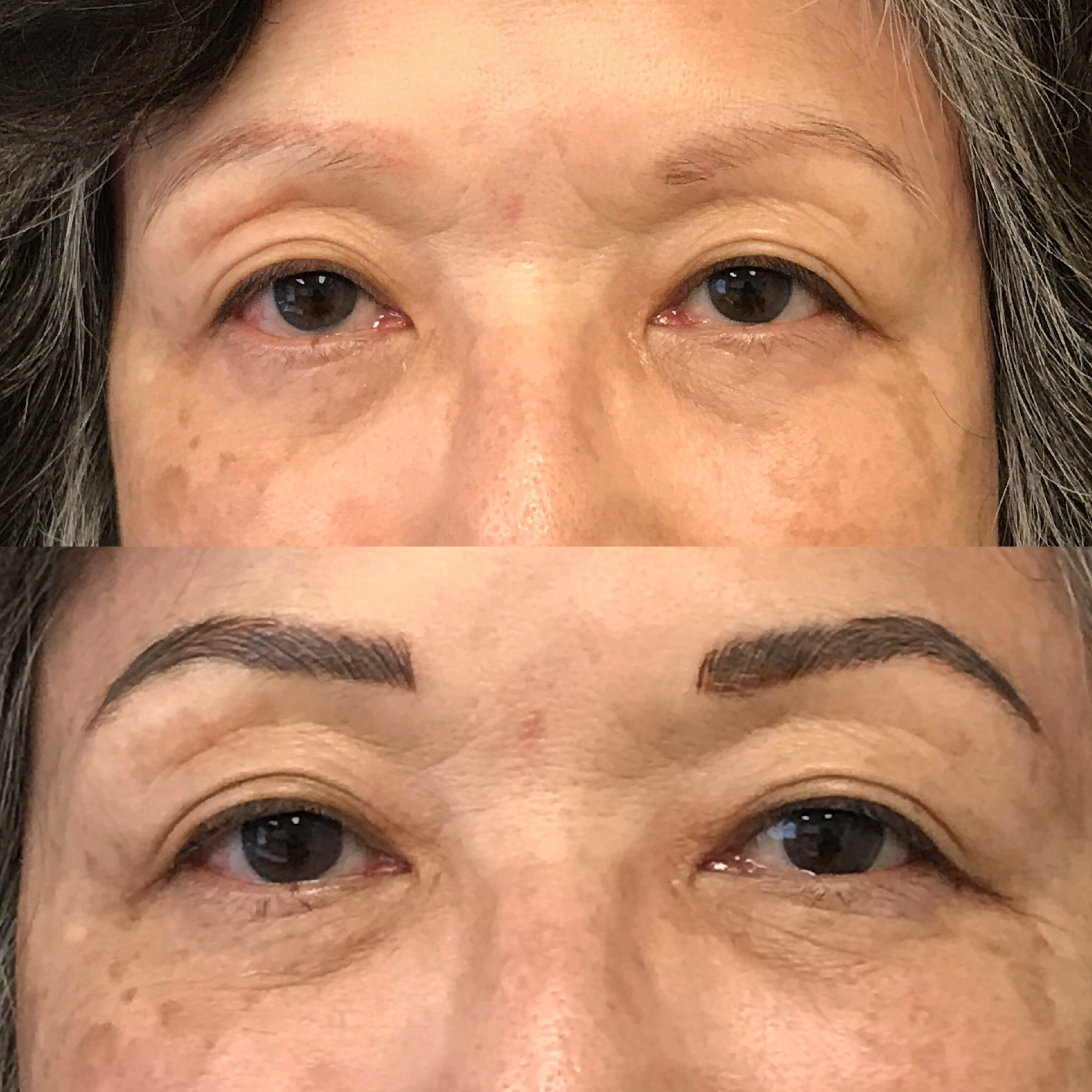 Microblading Before and After - SK