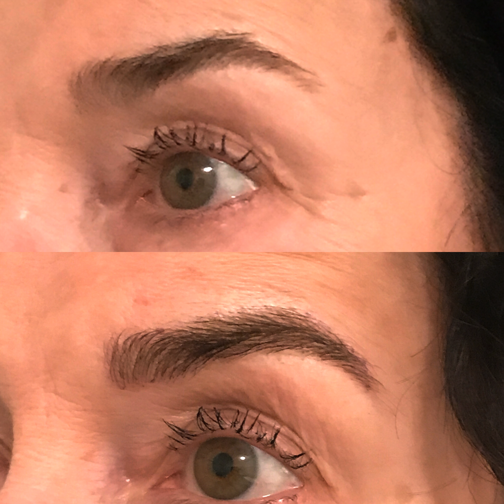 Microblading Before and After - MN