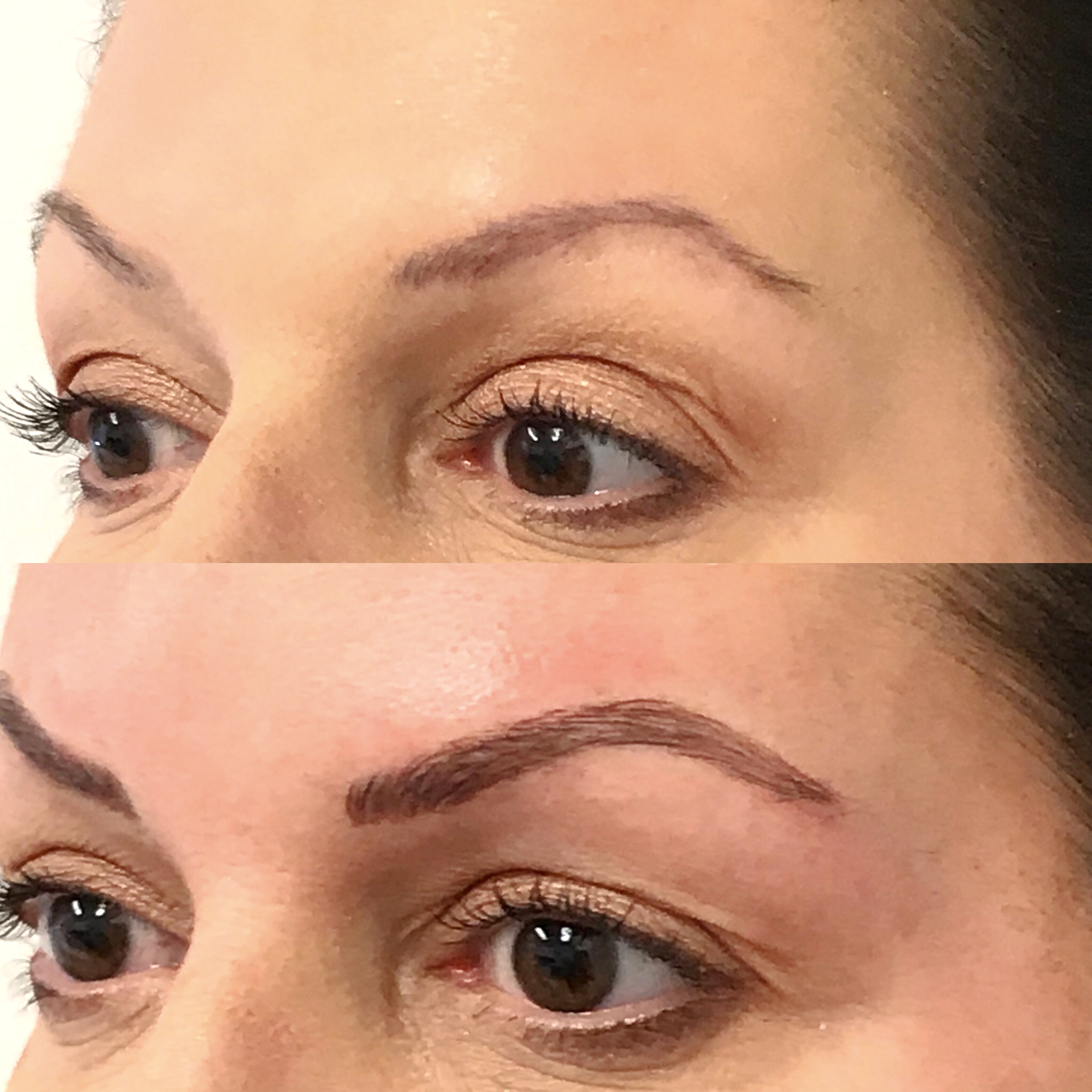 Microblading Before and After - JG
