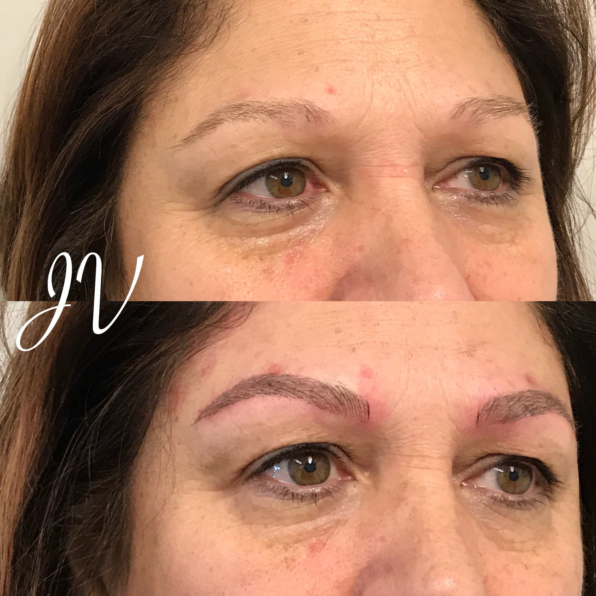 Microblading Before and After - KS