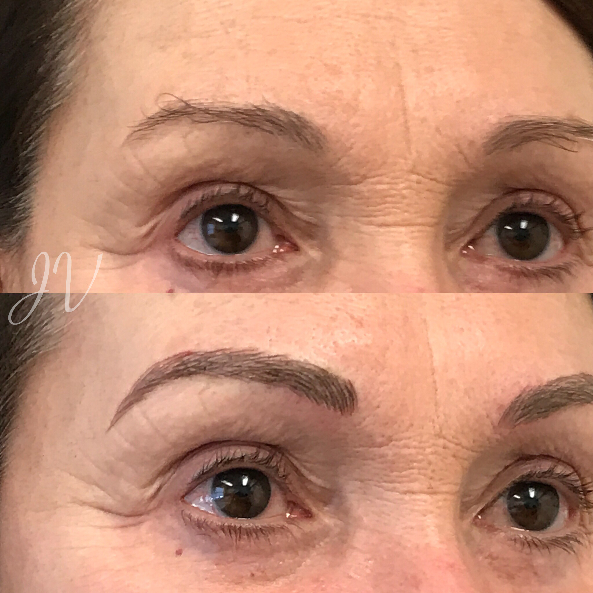 Microblading Before and After - DD