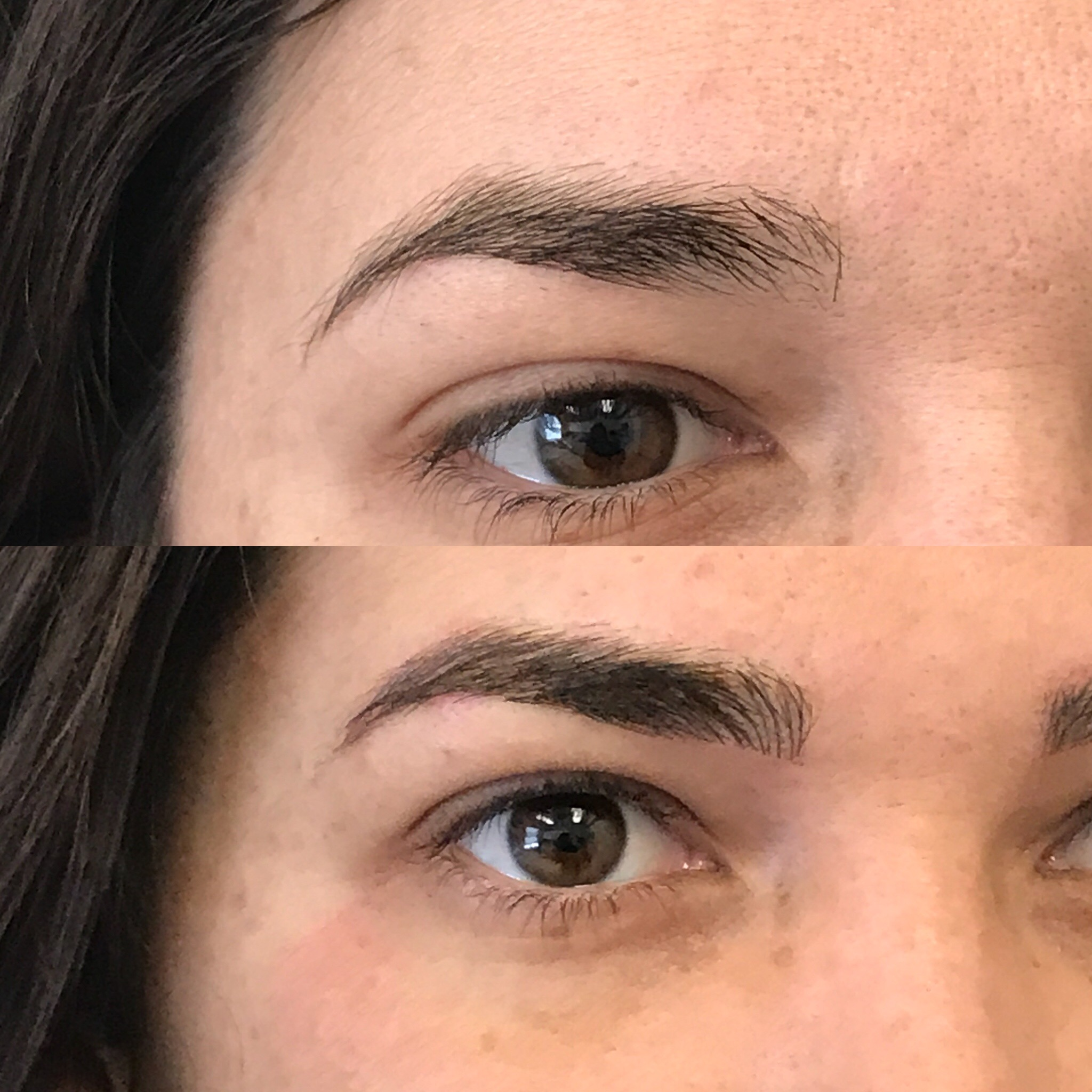 Microblading Before and After - SC
