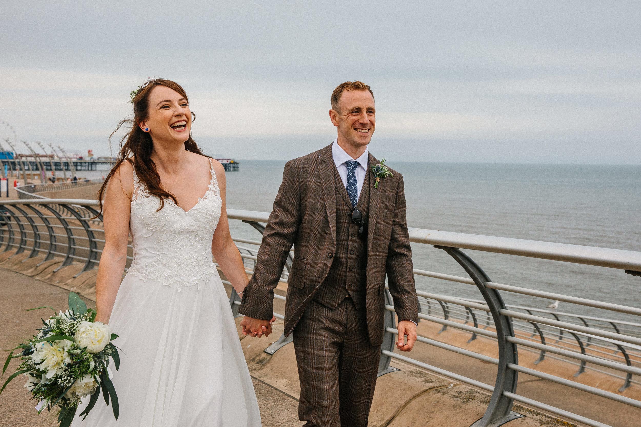 Blackpool wedding photography