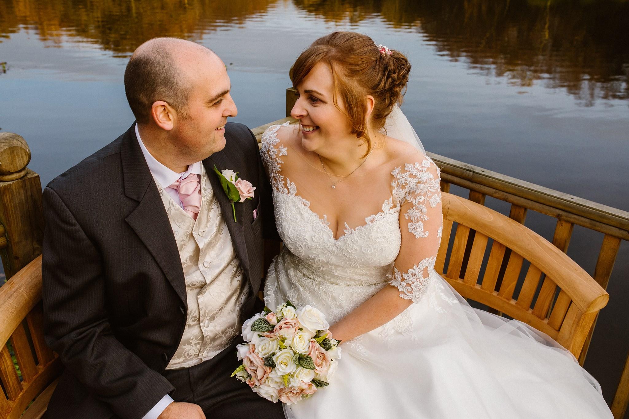 Park Hall hotel wedding photography
