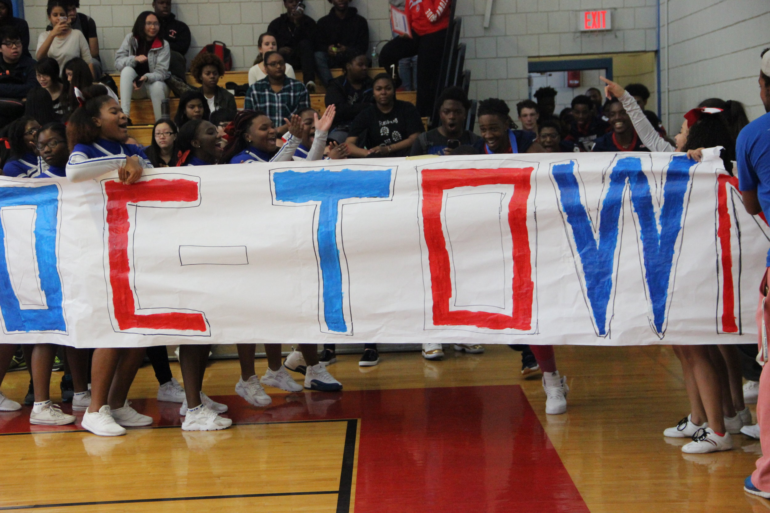 Spirit - Pep Rally (October), excitement 1.JPG